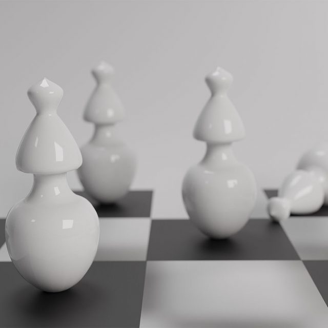 Chess, Blender, 3D, Design