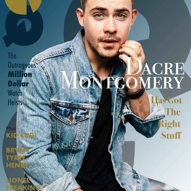 GQ, Dacre Mongomery, student project, print, graphic design